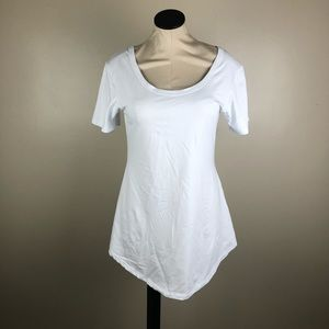 SOLD ❗️Meaneor White Top Tunic Length NWT